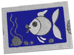 Рыбка из гофрокартона